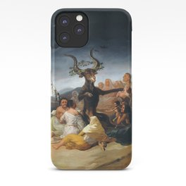 Witches Sabbath by Francisco Goya (1798) iPhone Case