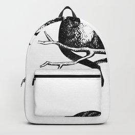 Alice in Illustration C15 Wonderland Cheshire Cat Print Backpack