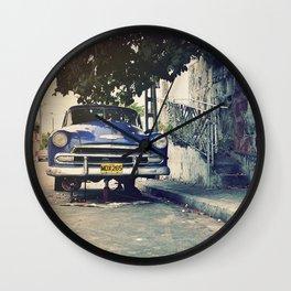 Cuba Vintage Car Wall Clock