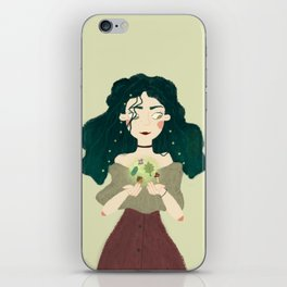 Forest woods iPhone Skin