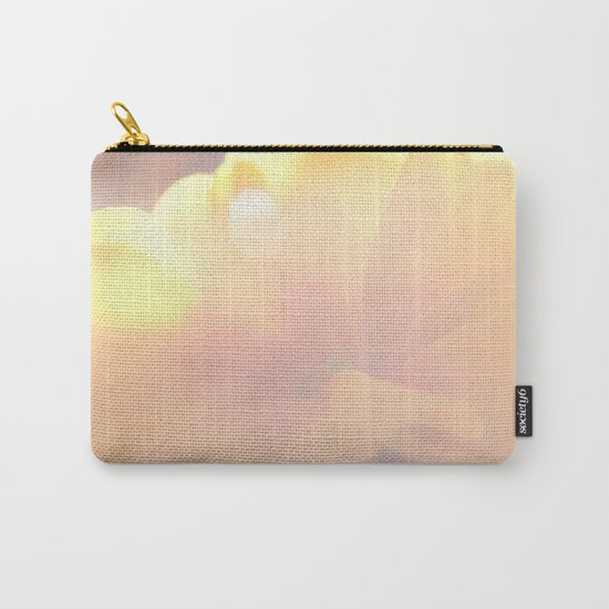 Spring Kiss - Yellow Primrose in the sunlight #decor #art #society6 Carry-All Pouch