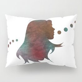 Talking Bubble (colorful silhouette) Pillow Sham
