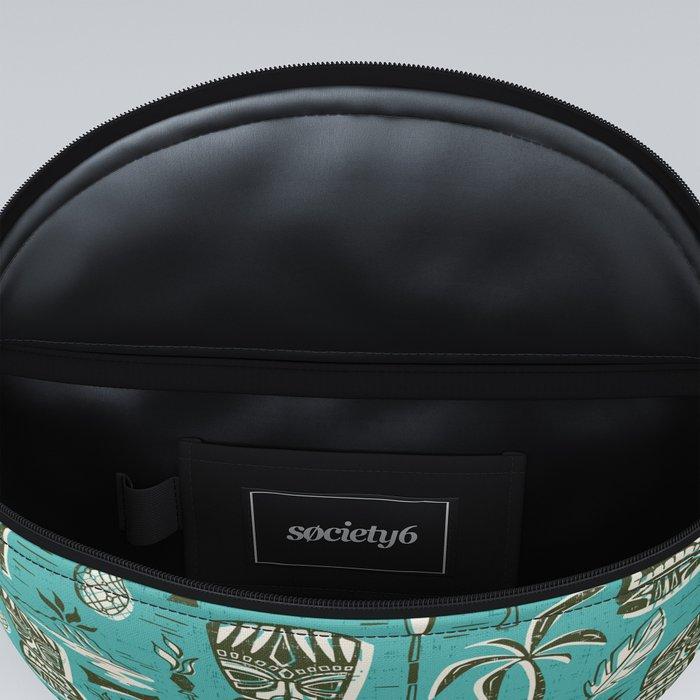Tropical Tiki - Aqua Fanny Pack