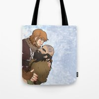 hero Tote Bags featuring Hero by adorible