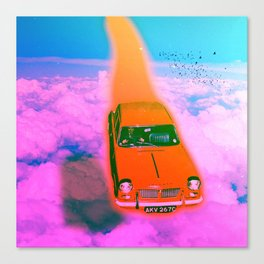 Zoomin' Canvas Print