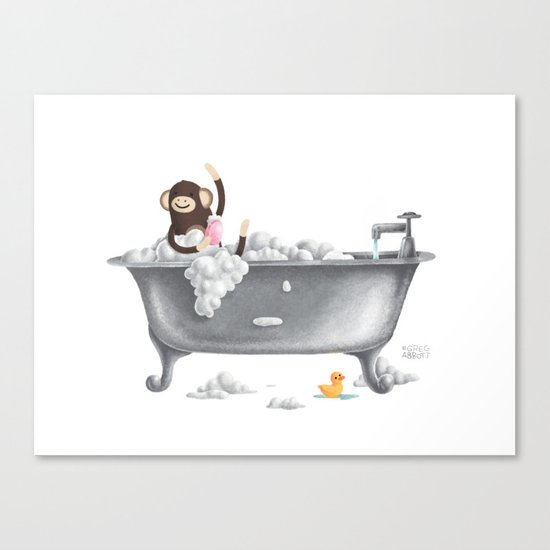 A Bubbly One Canvas Print