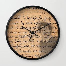 Influenza Wall Clock