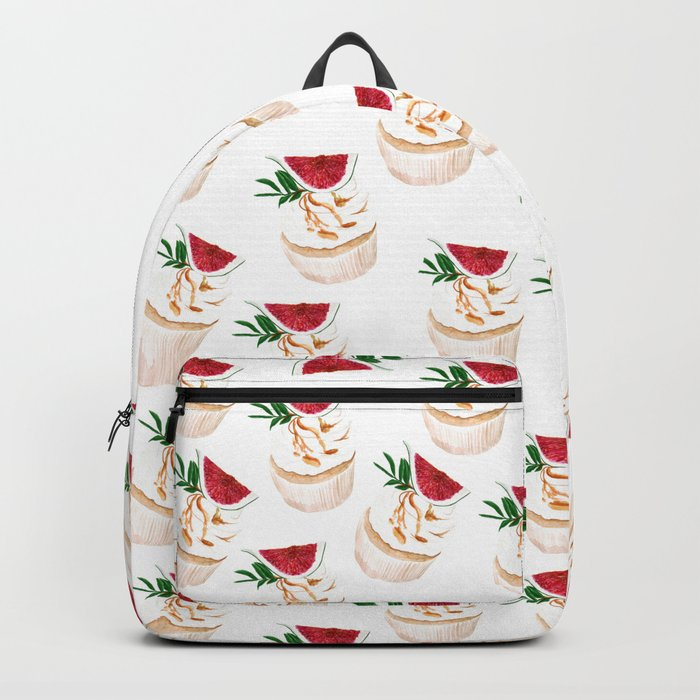 Fig Cupcakes pattern Backpack