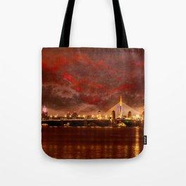 Boston Charles River Bridges Tote Bag
