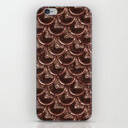 Precious Shimmering Copper Scales iPhone Skin