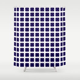 Blue Crush No. 35 Shower Curtain
