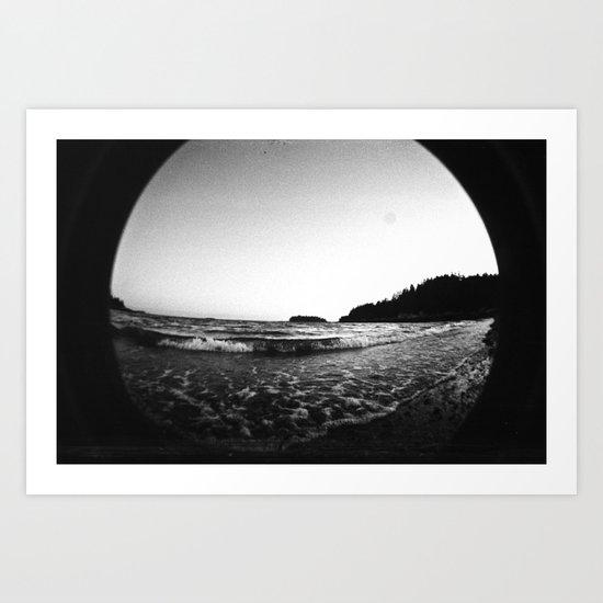 Ocean Study I Art Print