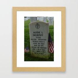 Memorial Framed Art Print