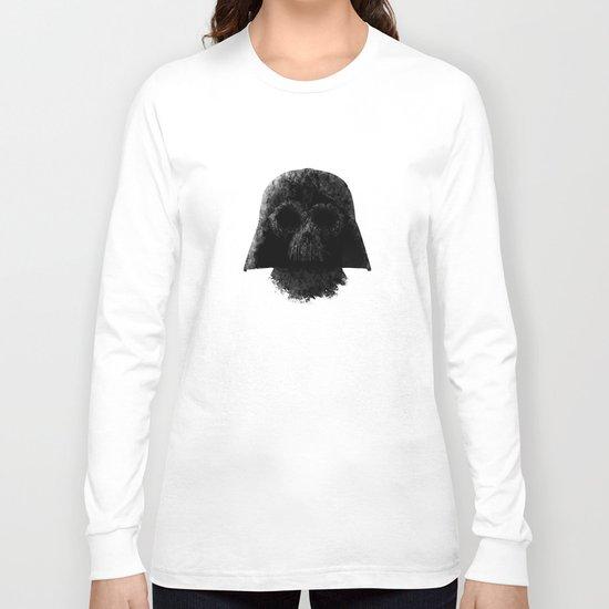 Vader (White) Long Sleeve T-shirt