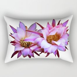 Purple cactus blossom Rectangular Pillow