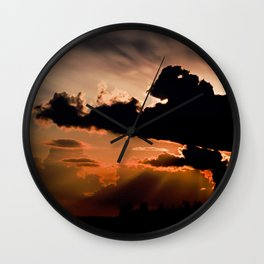 inspired by the world II Wall Clock