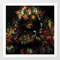 vader Art Prints featuring Vader by ururuty