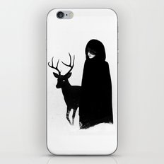 Absentia in white iPhone Skin