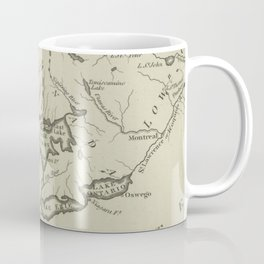 Vintage Map of The Great Lakes (1794) Coffee Mug