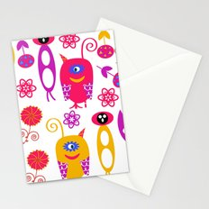Monsters 3R Stationery Cards