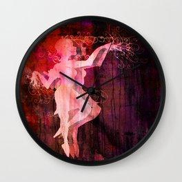 Alice Dancing Darkly (edit7) Wall Clock