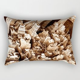 NYC - Big Apple from Empire  Rectangular Pillow