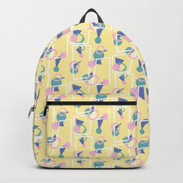 Playful Yellow Backpack