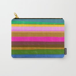 Wild lines pink Carry-All Pouch