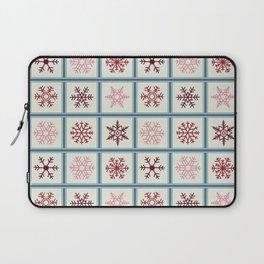 Snowflakes light Laptop Sleeve