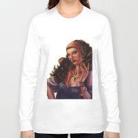gypsy Long Sleeve T-shirts featuring Gypsy by Ayu Marques