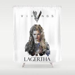 Lagertha - Vikings Shower Curtain