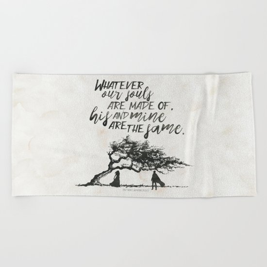 Wuthering Heights - Souls Beach Towel