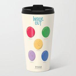 Inside Out - Minimal Movie Poster, animated movie, Travel Mug