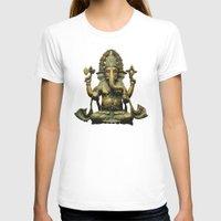 ganesha T-shirts featuring Ganesha by Justin Atkins