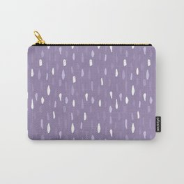 Stains Abstract Ultraviolet Carry-All Pouch