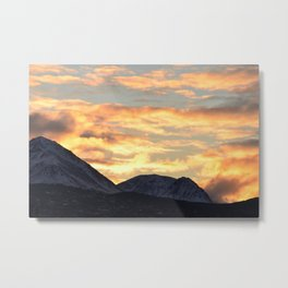 Good Morning Last Frontier! Metal Print