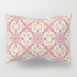modern arabic pattern in pastel colors Pillow Sham
