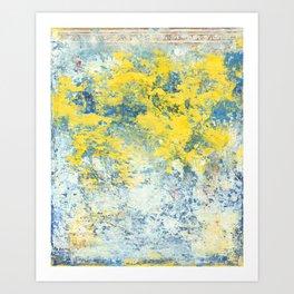 Lemon Zest Art Print