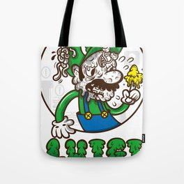 creepy lugi Tote Bag
