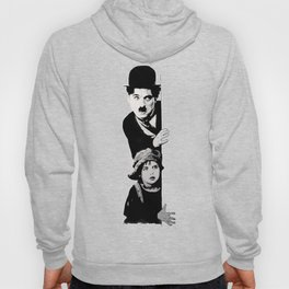 Chaplin and the kid - Urban ART Hoody
