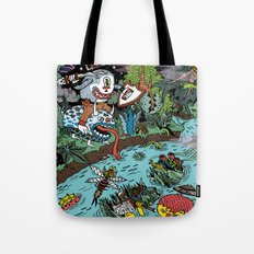 Some of us were born to explore!  Tote Bag