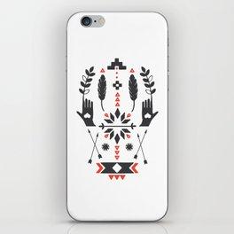 Norwegian Folk Graphic iPhone Skin