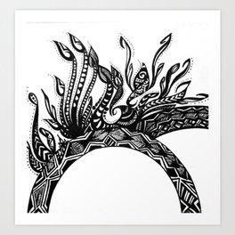 Zen Design Art Print