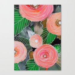 Botanic no. 2 Canvas Print