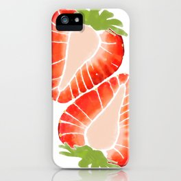 Strawberry Secret iPhone Case