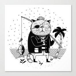 Fishercat Canvas Print