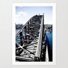 Harbour Bridge Sydney Art Print
