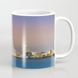 Downtown Clearwater at Night Coffee Mug