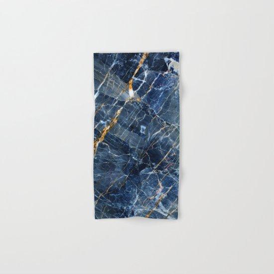 Blue Marble Hand & Bath Towel