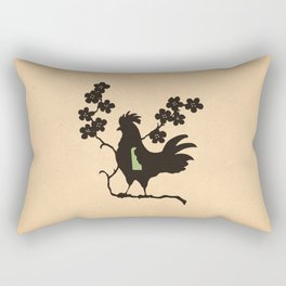 Delaware - State Papercut Print Rectangular Pillow